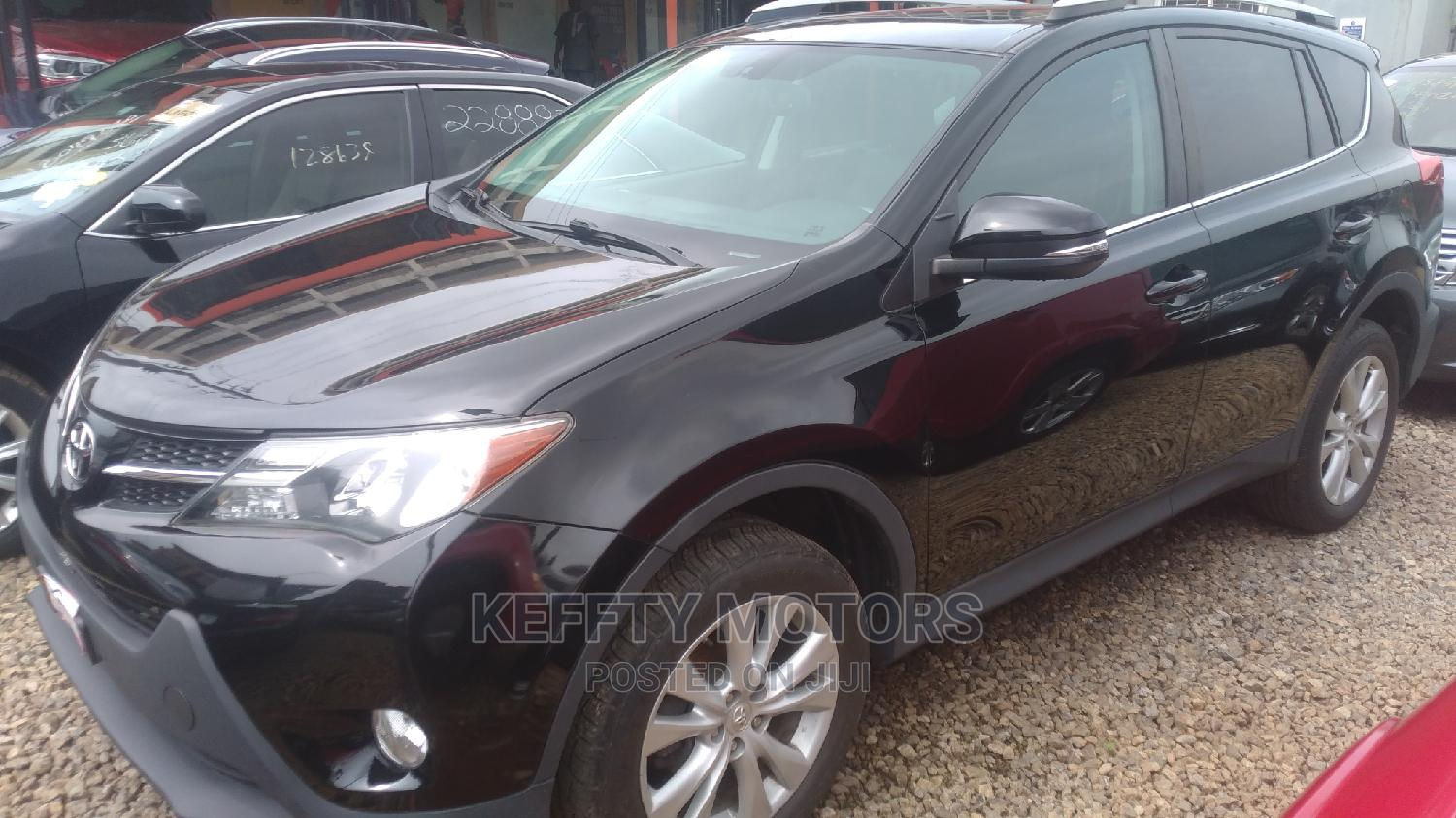 Toyota RAV4 2015 Black | Cars for sale in Central Business District, Abuja (FCT) State, Nigeria