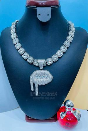 Men's Blink Neck Chain and Pendant 02 - Silver   Jewelry for sale in Lagos State, Ojodu