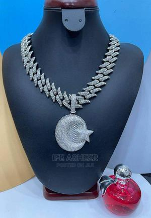 Men's Blink Neck Chain and Pendant - Silver   Jewelry for sale in Lagos State, Ojodu