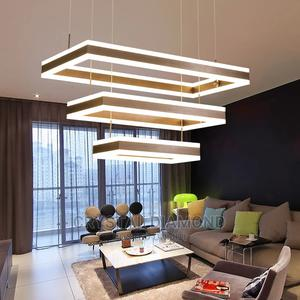 Rectangular 1 2 3 Lights LED Pendant Lamp Modern Adjustable   Home Accessories for sale in Lagos State, Ikoyi
