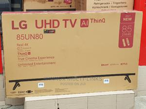 Lg 85 Inches Smart 4k Tv With Magic Remote | TV & DVD Equipment for sale in Abuja (FCT) State, Wuse