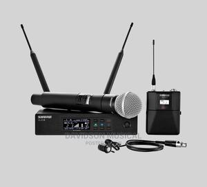 Shure QLXD4 Wireless Microphone Handheld and Lavalier | Audio & Music Equipment for sale in Lagos State, Ojo
