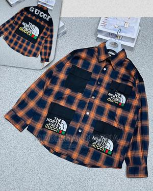 Designers Checkers Shirt   Clothing for sale in Lagos State, Apapa