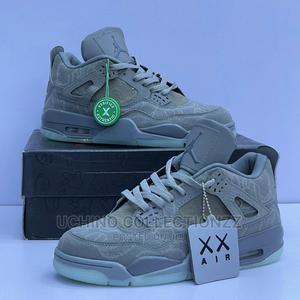 "Air Jordan 4 Kaws ""Grey"" | Shoes for sale in Lagos State, Lagos Island (Eko)"