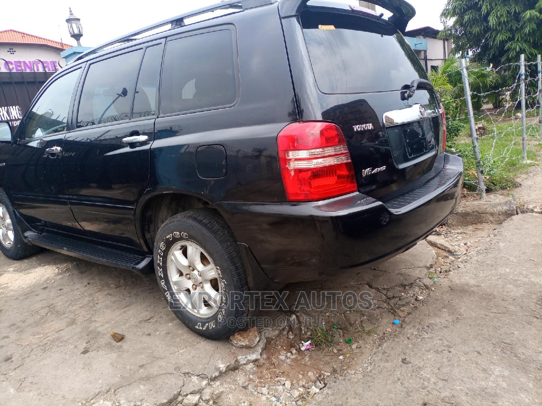 Toyota Highlander 2003 Black   Cars for sale in Ikeja, Lagos State, Nigeria