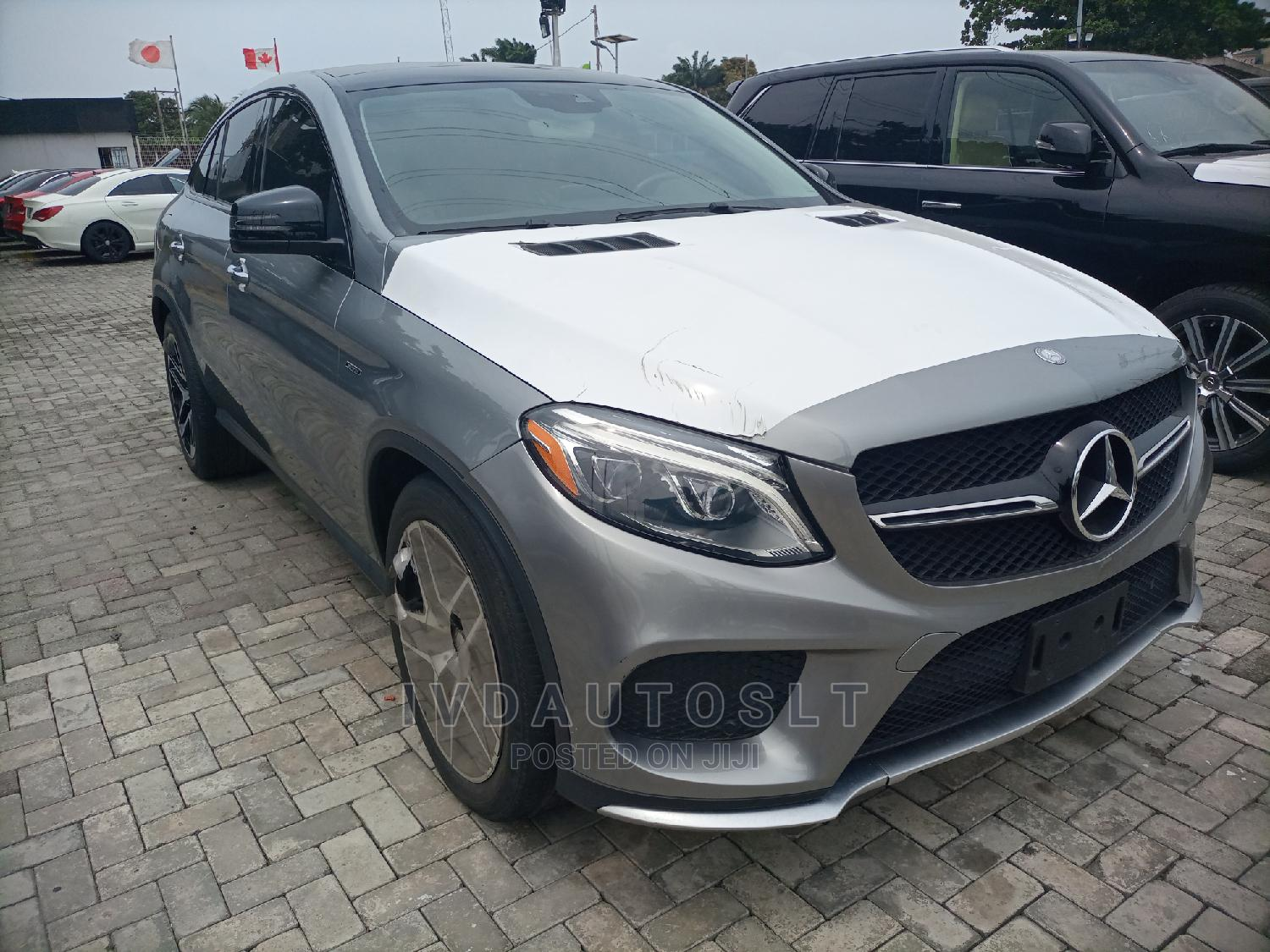 Mercedes-Benz GLE-Class 2016 Gray | Cars for sale in Ajah, Lagos State, Nigeria
