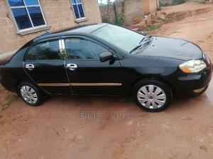Toyota Corolla 2003 Sedan Automatic Black | Cars for sale in Edo State, Benin City