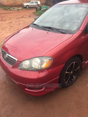 Toyota Corolla 2005 S Red | Cars for sale in Edo State, Esan North East