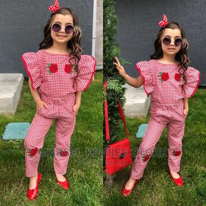 2pc Check Outfit | Children's Clothing for sale in Abuja (FCT) State, Jabi