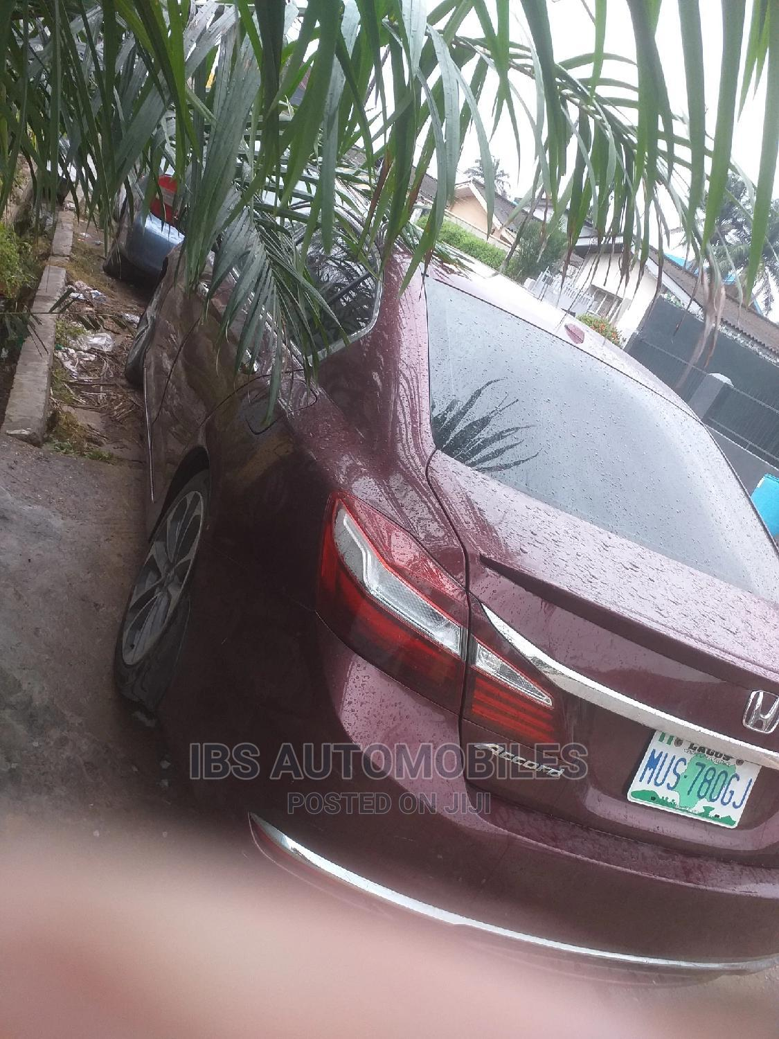 Honda Accord 2013 Red   Cars for sale in Surulere, Lagos State, Nigeria
