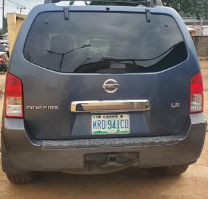 Nissan Pathfinder 2005 LE 4x4 Blue | Cars for sale in Lagos State, Alimosho