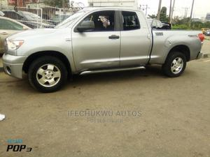 Toyota Tundra 2007 SR5 Double Cab Silver   Cars for sale in Lagos State, Ikeja