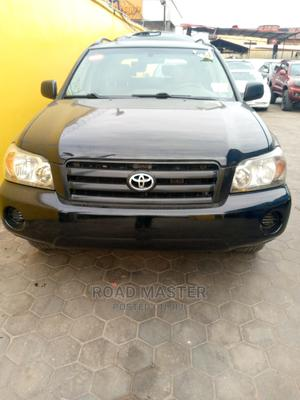 Toyota Highlander 2005 V6 Black | Cars for sale in Lagos State, Ojo