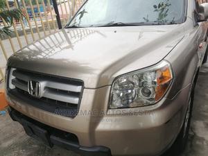 Honda Pilot 2008 EX-L 4x4 (3.5L 6cyl 5A) Gold | Cars for sale in Lagos State, Ikeja