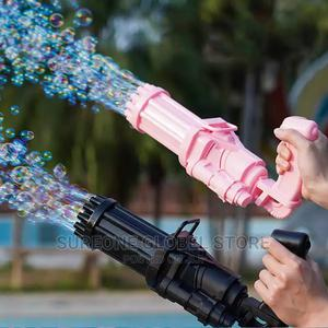 18 Holes Gatling Bubble Machine | Toys for sale in Lagos State, Ajah
