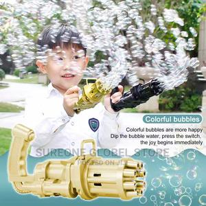 Kids Automatic Gatling Bubble Gun | Toys for sale in Lagos State, Victoria Island