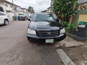 Toyota Highlander 2004 Limited V6 FWD Black | Cars for sale in Lagos State, Ikeja