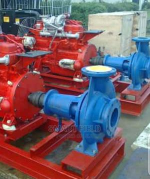 Single Fire Hydrant Pump Coupled With Diesel Engine 37kw   Plumbing & Water Supply for sale in Lagos State, Orile