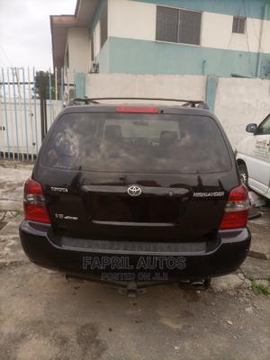Toyota Highlander 2004 Base FWD Black | Cars for sale in Lagos State, Ikeja
