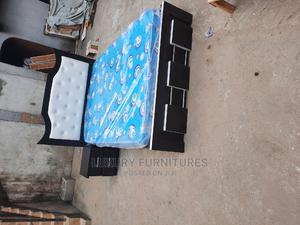 4.5/6 Bedframe With Mattress | Furniture for sale in Lagos State, Ojo