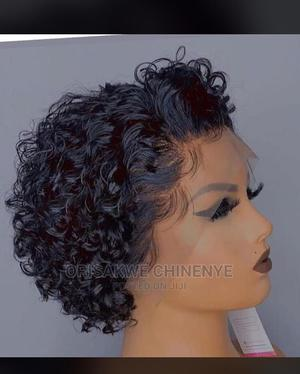 Human Hair Frontal Wig   Hair Beauty for sale in Lagos State, Ikeja