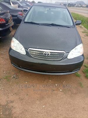Toyota Corolla 2005 LE Black | Cars for sale in Abuja (FCT) State, Kubwa