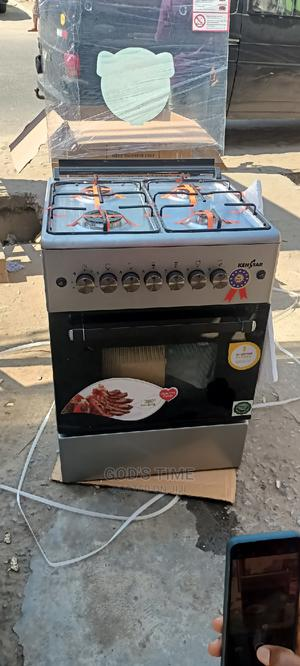Kenstar 60×60cm 4 Burner With Oven Grill Standing Gas Cooker   Kitchen Appliances for sale in Lagos State, Ojo