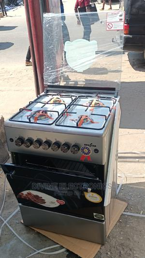 Kenstar Standing Gas Cooker (4 Gas,Oven Grill) 60 by 60 Cm.   Kitchen Appliances for sale in Lagos State, Ojo