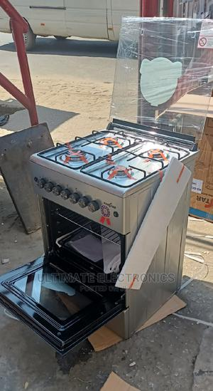 Kenstar 60 by 60 Cm Standing 4 Burner Gas Cooker-Oven Grill   Kitchen Appliances for sale in Lagos State, Ojo