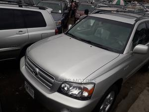 Toyota Highlander 2006 Limited V6 4x4 Silver   Cars for sale in Lagos State, Apapa