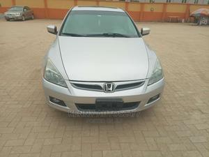 Honda Accord 2007 2.0 Comfort Automatic Silver | Cars for sale in Ogun State, Obafemi-Owode