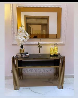 Console Table With Mirror | Furniture for sale in Lagos State, Lekki