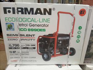 Firman 8990eco Petrol Generator 6.7kva | Electrical Equipment for sale in Lagos State, Lekki