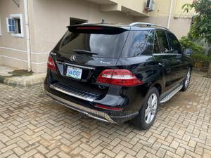 Mercedes-Benz M Class 2012 ML 350 4Matic Black   Cars for sale in Abuja (FCT) State, Apo District
