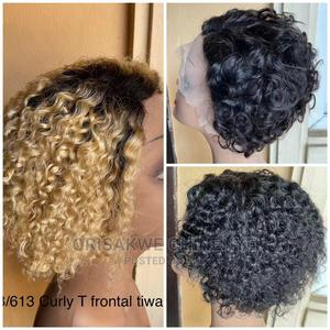 1b/613 Curly T Frontal Tiwa Wig   Hair Beauty for sale in Lagos State, Ikeja