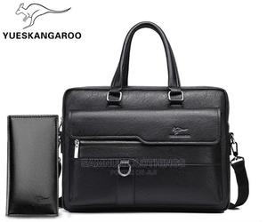 Luxury Executive Genuine Leather Handbag With Wallet   Bags for sale in Lagos State, Abule Egba