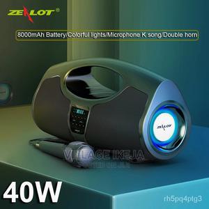 Zealot P1 40w Bass Wireless Speaker Outdoor | Audio & Music Equipment for sale in Lagos State, Ikeja