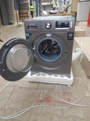Hisense Inverter Wash and Fully Dry Machine (10kg) | Home Appliances for sale in Lagos State, Ajah