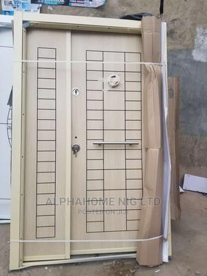 4ft by 7ft Off-White Entrance Security Door   Doors for sale in Lagos State, Orile