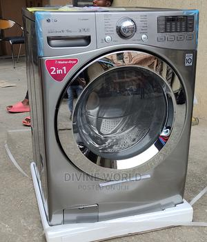 LG Front Load Wash(16kg) Dryer (10kg) Automatic | Home Appliances for sale in Lagos State, Ojo