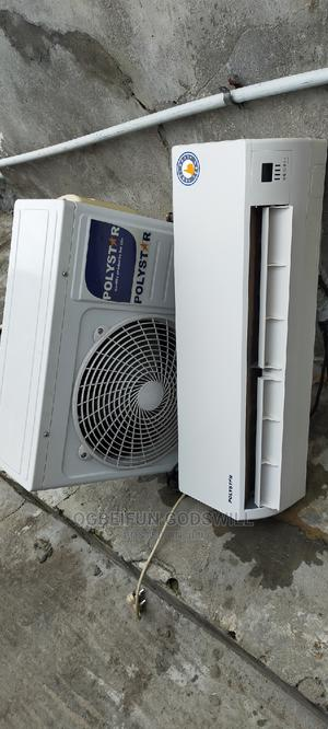 9 Months Old 1.5hp Polystar Ac   Home Appliances for sale in Lagos State, Ajah