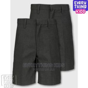 Boys School Shorts 2-In-1 Grey | Children's Clothing for sale in Lagos State, Ikeja