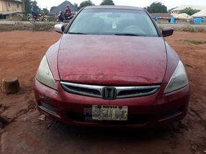 Honda Accord 2003 2.4 Automatic Red | Cars for sale in Delta State, Ika South