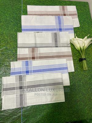 Original VAN HEUSEN 6pcs Vintage Plaid Handkerchiefs | Clothing for sale in Lagos State, Ikeja