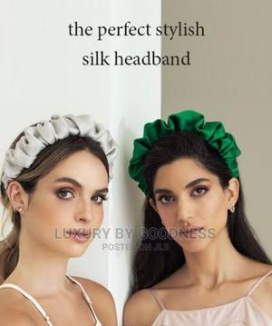 Crunchy Satin Hairband   Clothing Accessories for sale in Lagos State, Lekki