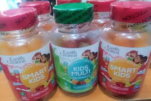 Earth Creation Healthy Brain Smart Kids With Omega-3dha * 60   Vitamins & Supplements for sale in Lagos State, Lagos Island (Eko)
