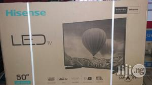 Brand New Hisense Led TV 50 Inches With 1year Warranty Sign   TV & DVD Equipment for sale in Lagos State, Ojo