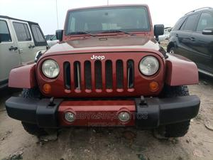 Jeep Wrangler 2008 3.8 Unlimited Sahara 4x4 Red   Cars for sale in Lagos State, Amuwo-Odofin