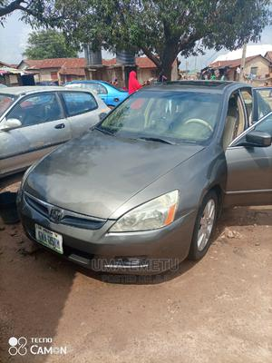 Honda Accord 2007 Coupe EX-L V-6 Automatic Gray | Cars for sale in Abuja (FCT) State, Kubwa