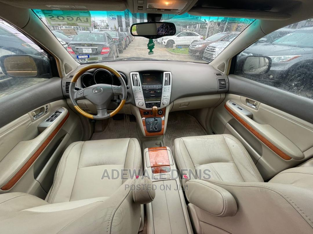 Lexus RX 2007 350 4x4 Black | Cars for sale in Ikeja, Lagos State, Nigeria
